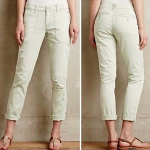 (Anthropologie) Pilcro distressed jeans
